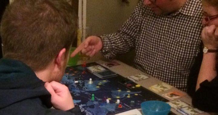 Tabletop games bring social groups together.